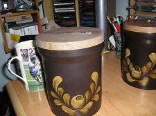 vintage DENBY storage jar largesize bakewell pattern vgc part of set iconic