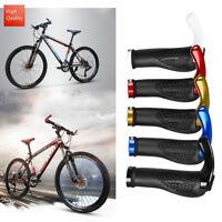 bicicleta de montaña PUÑOS DE MANILLAR DOBLE Acopla Mtb Bmx Bicicleta +TOPES