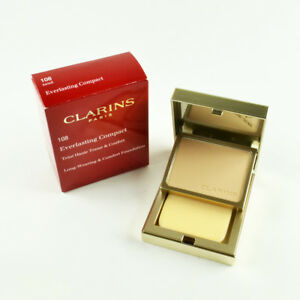 Clarins Everlasting Compact Long-Wearing & Comfort Foundation #108 Sand - 10 g