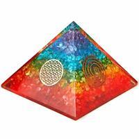 Extra Large 70-75MM Orgone Energy Pyramid Orgone EMF Protection Healing Chakra