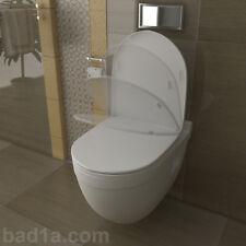 Toilettendeckel / Design WC-Sitz/Deckel mit Absenkautomatik / Softclose Funktion