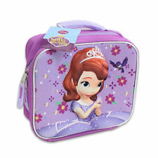 Lunch Bag Insulated Pop Out 3D Disney Princess Sofia The First Violet New