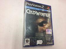 COLD WINTER  PS2 PLAYSTATION 2 PAL NUOVO SIGILLATO
