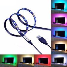TV Backlight Lighting Back LED Strip Light RGB Home Decor Stand Unit Screen LCD
