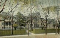 Rochester NY Homeopathic Hospital c19910 Postcard