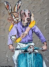 GILLIE AND MARC. Direct from artists. Authentic Art Print 'Love' 'Vespa' 'Ride'