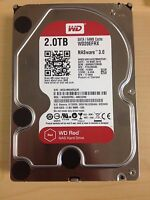 "Western Digital 2 TB 3.5"" NAS Hard Drive SATA Red WD20EFRX 64MB Cache"