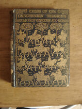 Tales of the Canterbury Pilgrims, Retold from Chaucer & Others.1904 H/B