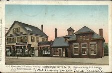 Somersworth NH B&M RR Train Station c1905 Copper Windows Postcard