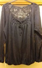 M&Co Long Sleeve Top Size 14