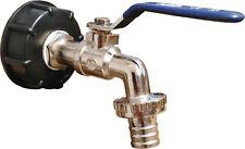 """IBC Adapter 3/4"""" Auslaufhahn aus Messing Regenwassertank 1000 Liter DN50 / S60"""