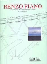 BUCHANAN, Renzo Piano. L'opera completa del Renzo Piano Building Workshop. III