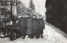 WWII German Army RP- Soldier- Car- KFZ- Officer- License Plate- Winter Snow