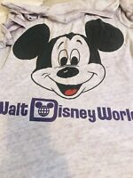 Walt Disney World  Parks Mickey Mouse T-Shirt Men's XL Sheer V Neck Unisex