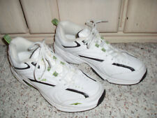 AVIA Cantilever Walking Running Sneakers Shoes~White w/Black~Size 8