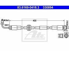 2 St. UAT 83.6169-0418.3 Flexible audi a6 avant a6 a4 cabriolet a4