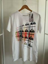 Tee-Shirt QUIKSILVER Modèle Basic MSP WHT WHITE HOMME NEUF
