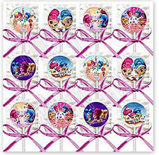 Shimmer and Shine Party Favors Decoration Lollipops Candy 12PC Treats Genies NEW