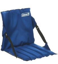 Coleman Folding Stadium Seat Chair Sport Compact Back Support Bleacher Bench Pad