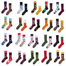 Many Mornings - Mismatched, Bunte, 2 unterschiedliche Socken = 1 Paar