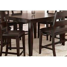 Steve Silver Company Victoria Counter Height W Butterfly Leaf Mango Dining Table
