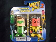 "DC de escritura EMS ""Green Lantern Vs Sinestro"" Coleccionable Personaje Lápices 2-pack"
