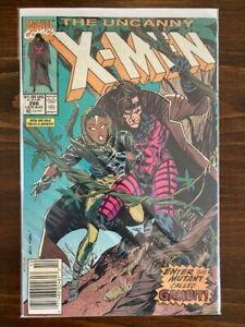 Uncanny X-Men #266 - First Cover App Gambit - Newsstand Copy