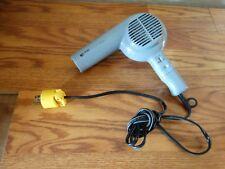 Vintage Clairol Hair Dryer Gray High Voltage 1500 Watts