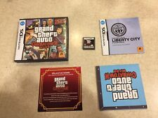 Grand Theft Auto Chinatown Wars Gta Nintendo Ds Map Case & Manual and game Rare