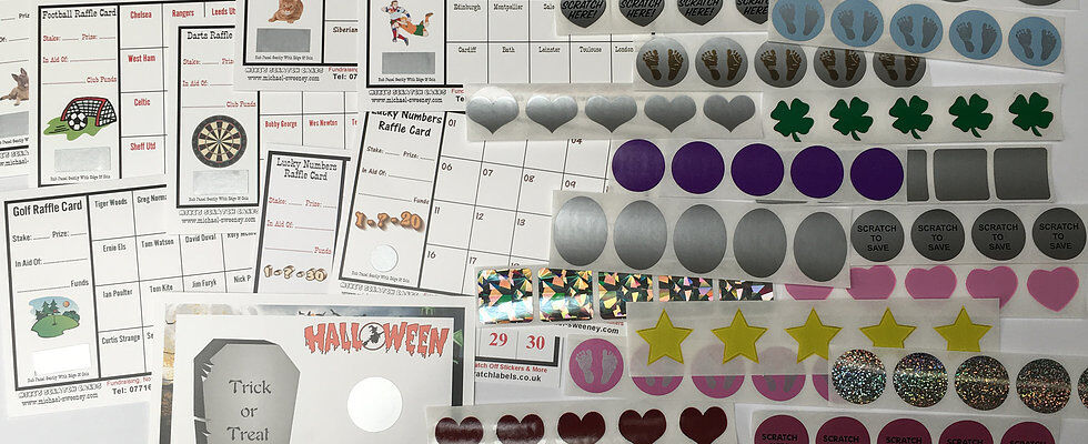 Scratch Off Stickers UK
