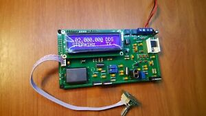 DDS AM LW/MW/SW Transmitter Modulator Mittelwellen Sender 10pKHz-30MHz 20w PEP