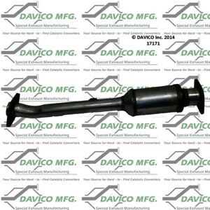 Catalytic Converter-Exact-Fit Rear Left Davico Exc CA 17171