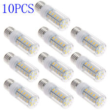10x E27 7W 5730SMD 650LM 3000-3500K Warm White Lights LED Corn Bulbs AC220-240V