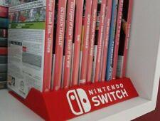 Stand soporte juegos Nintendo switch para 12 juegos impreso en 3d