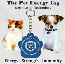 Power Tag Quantum SCALAR Energy Pendant Balance Power Pet Dog Cat Immunity ION