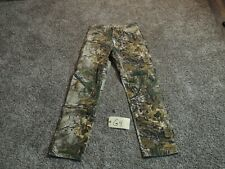 Wrangler Pro Gear Camo Hunting Pants Size 32 x 32 Deer Duck Fishing Realtree