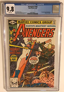Avengers #195, CGC 9.8 White, 1st Appearance TASKMASTER, BLACK WIDOW MOVIE MCU