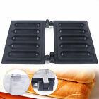 Antihaftbeschichtete Hot-Dog-Waffeleisen-Vorlage Hot-Dog-Waffelstab-Platte