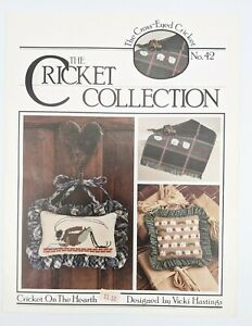 Crossed Eye Cricket/Cricket Collection Cross Stitch CRICKET ON THE HEARTH No. 42