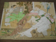 """Philippe Noyer """"Chinese Garden"""" Lithograph"""