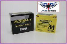 Motobatt AGM Mejora Batería de Gel Ducati 998. 20% Potencia Extra