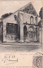 MONTMORENCY rue au pain ancien monastère timbrée 1903