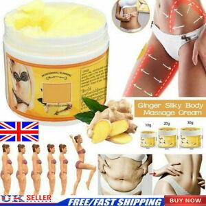 Ginger Fat Burning Anti-cellulite Full Body Slimming Cream Gel Weight Loss UK