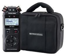 Tascam DR-05X Digitalrecorder Set Stereo USB Interface Mikrofon SD MP3 Tasche