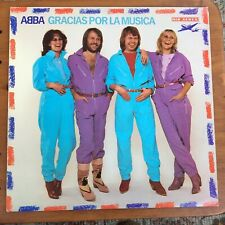 ABBA Gracias Por La Musica LP Original 1980 Septima SRLM 1 Sung In Spanish EX