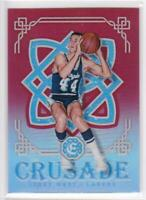 2016-17 Jerry West #/99 Panini Excalibur Crusade #84 Los Angeles Lakers Card