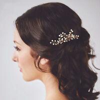 Gypsophila Pearls Hair Pins Sticks Wedding Bridem Bridesmaids Accessories