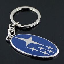 Subaru Stainless Keyring Key Ring WRX STI Impreza Forester Liberty VX Outback