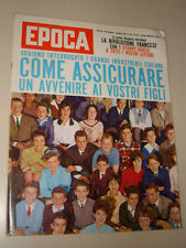 EPOCA=1962/610=SCOTT CARPENTER=PIETRO CASCELLA=IGOR STRAVINSKY=INCHESTA GIOVANI=