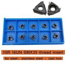11ir 16un Smx35 Carbide Insert Thread Blade Universal Material For Sel Tool 11er